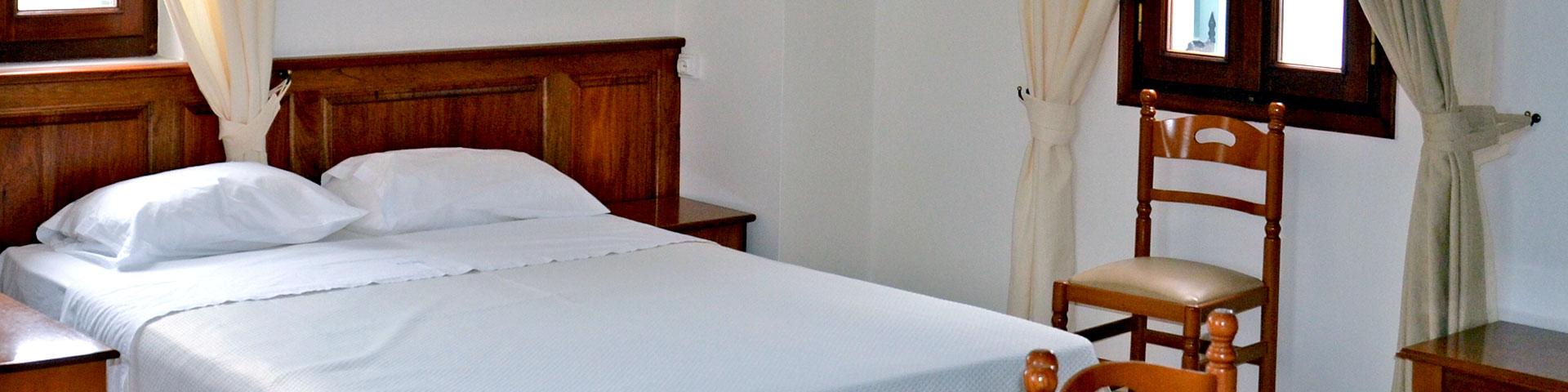 Kastro Hotel Spetses Accommodation Header