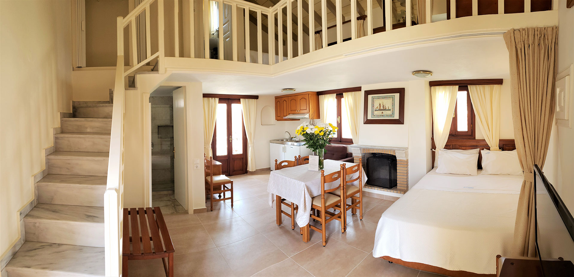 Kastro Hotel Spetses Townhouses for 5 persons