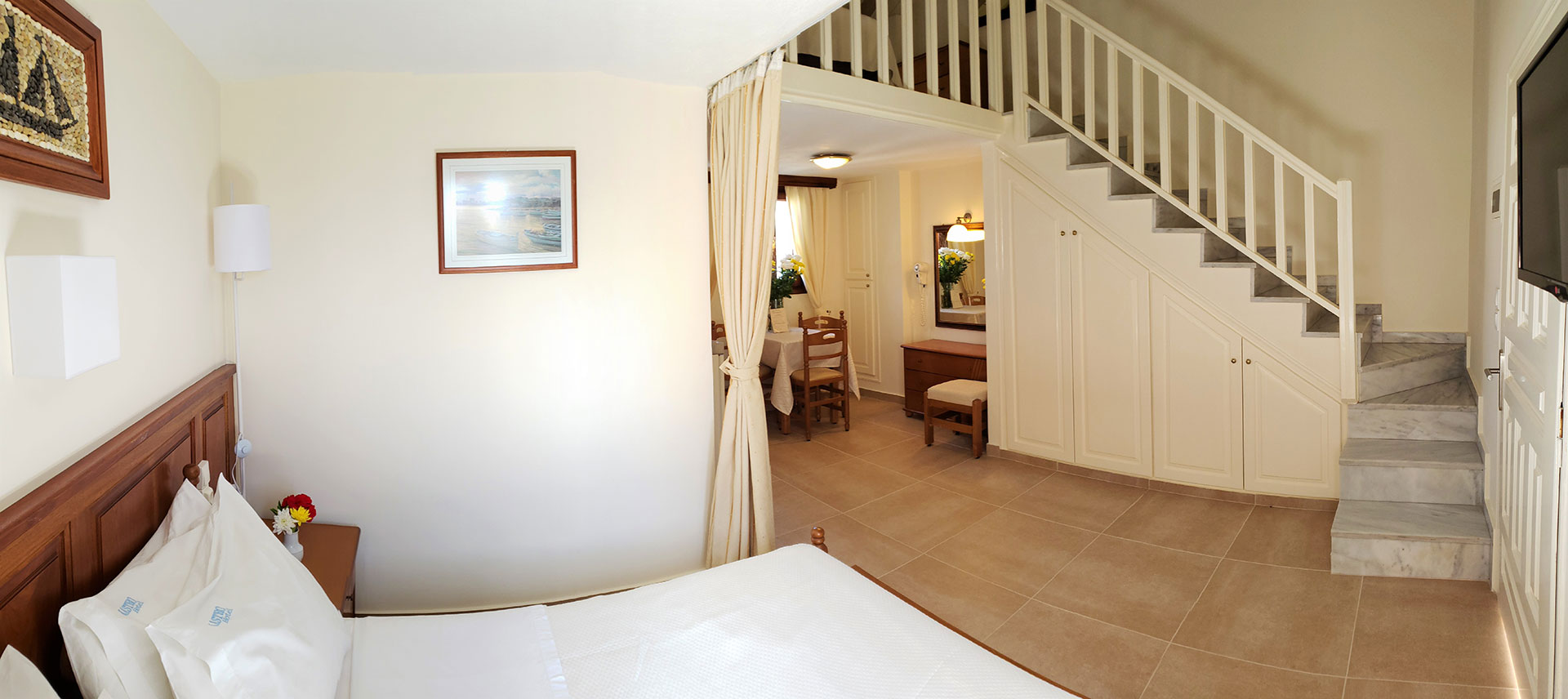 Kastro Hotel Spetses Apartments for 4 persons