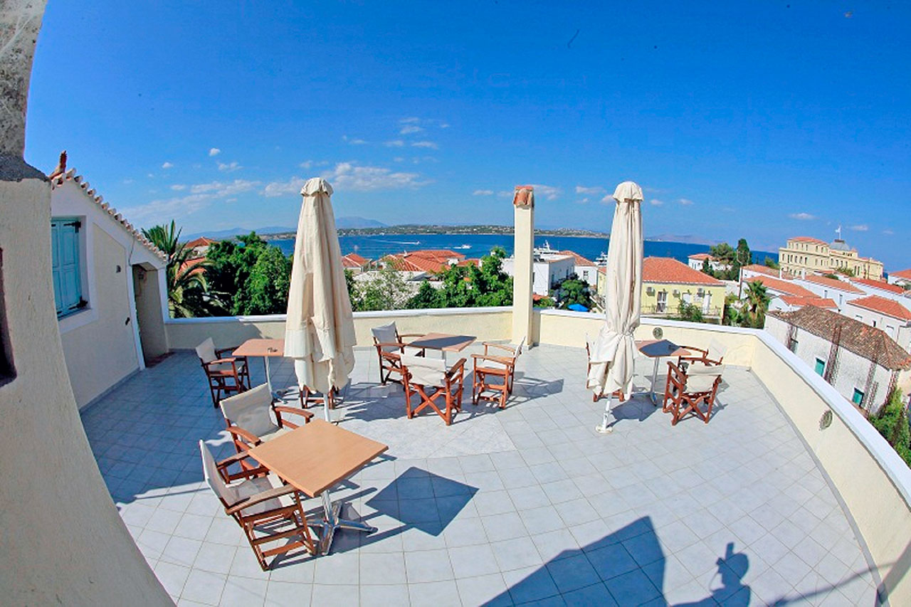 Kastro Hotel Spetses Veranta